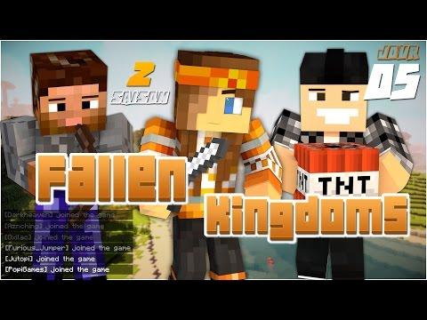 DIAMANTS A FOISON Fallen Kingdoms Il #Jour 5 Minecraft