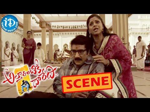 Atharintiki Daredi Movie Scene – Boman Irani Shooting Rao Ramesh – Pawan Kalyan    Nadhiya Photo Image Pic