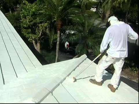 Hurricane Proof your Roof with Somay &quot;Roof Mastic&quot; Sealer and Protector