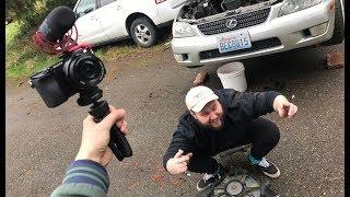 NEW CAMERA SETUP!! (SONY A6300) +Lexus Things