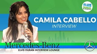 The Reason Why Camila Cabello Thinks It's Important To Write Your Own Songs | Elvis Duran Show