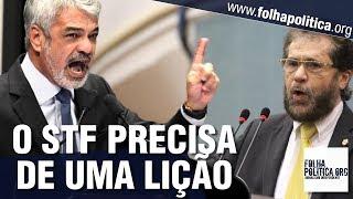 Senador petista Humberto Costa ataca CPI da 'Operação Lava Toga' e Bolsonaro, mas é retrucado por..