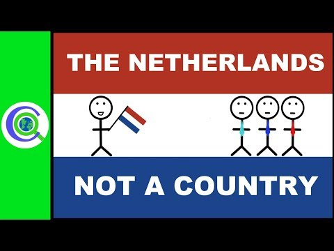 The Netherlands is not a Country