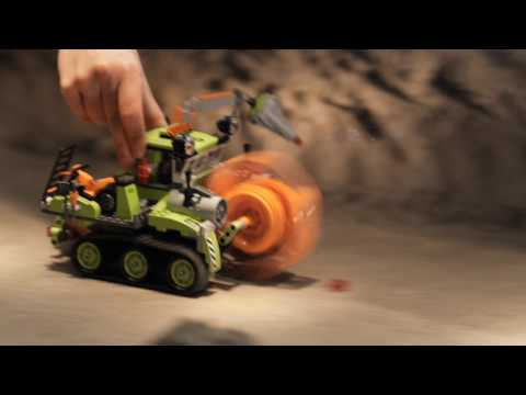 LEGO Power Miners Crystal Sweeper TVC.