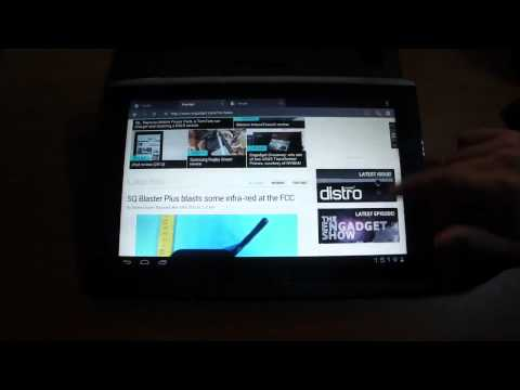Android 4.0 Ice Cream Sandwich en Acer Iconia Tab A500