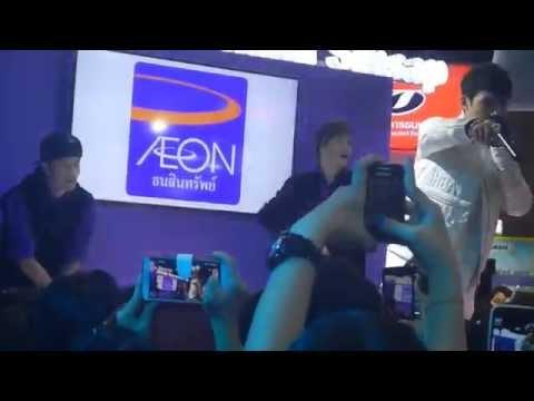 แกงส้ม เมดเล่ย์เพลงแด๊นซ์+คุณและคุณเท่านั้น @Aeon Booth Money Expo Udornthani 19 10 14