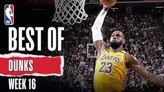 NBA's Best Dunks | Week 16 | 2019-20 NBA Season
