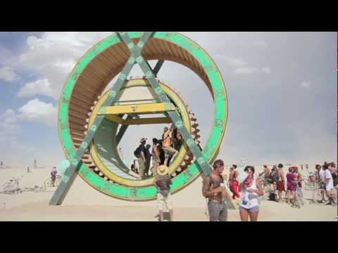 Burning Man 2012: Mayan TRIcycle