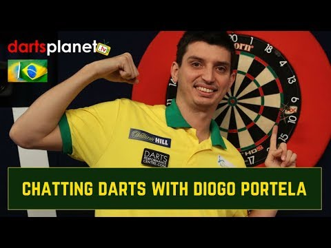 DIOGO PORTELA CHATS ABOUT DARTS & HIS JOURNEY SO FAR WITH DARTS PLANET TV