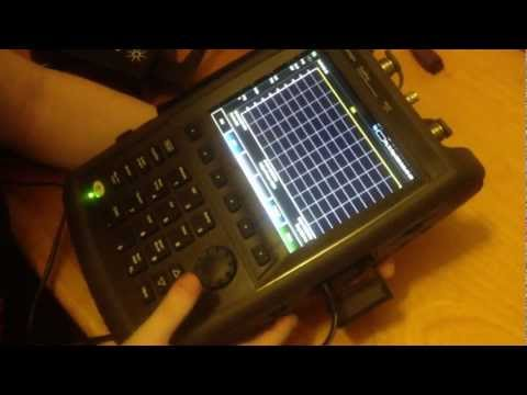 Ladyada & the Agilent FieldFox VNA 4GHz