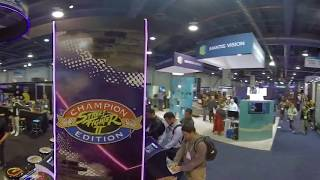 Walk around #CES2019 Tech East LVCC, Central and South Halls in 360 with the Insta360 One X