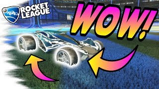 Rocket League Trading - I Got WHITE PAINTED APEX WHEELS! - Update, News (RLCS Tournament Items)
