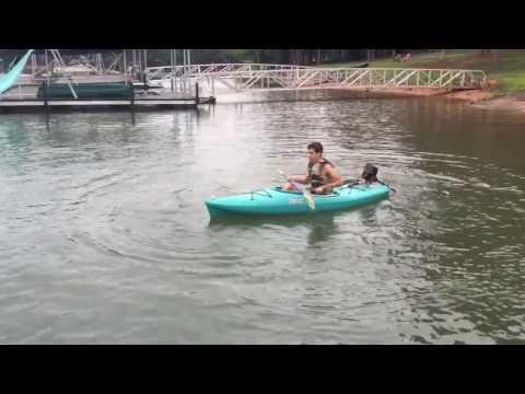 Weedeater Powered Kayak