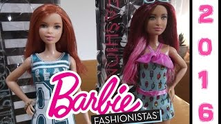 Barbie Fashionistas 2016 (Tia & Miranda) #16 #17 - Review/Recensione ITA