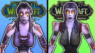 World of Warcraft: All Classic Racial Intros Next to Their Modern Counterparts