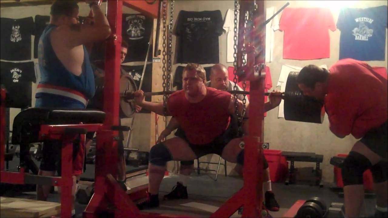 Weight lifter blows out anus