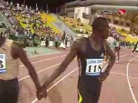 David Rudisha wins the 800m