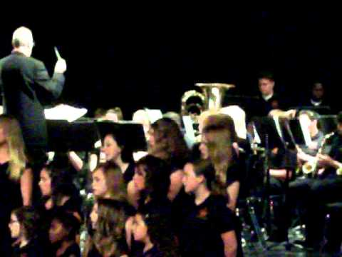 Southwest Middle School Band Final Concert 2011 (8th grade) part 1