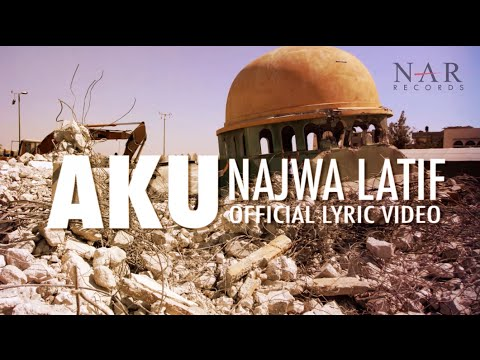 Najwa Latif - Aku (official Lyric Video) video