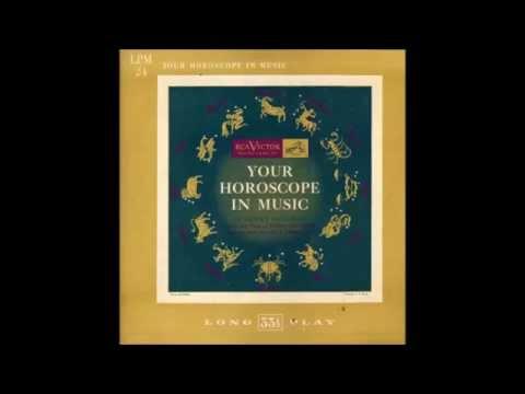 """Dewey Bergman """"Your Horoscope In Music"""" 1951 10"""" LP Zodiac Astrology FULL ALBUM"""