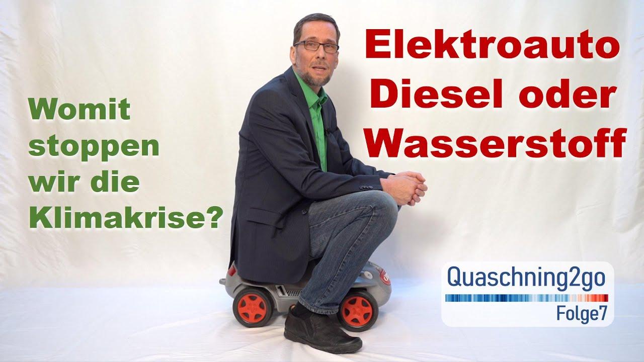 Elektroauto, Diesel oder Wasserstoff?
