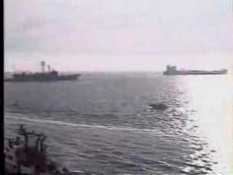 USS Missouri Persian Gulf Bound