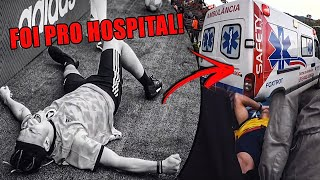 FRED FOI PARAR NO HOSPITAL!