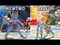 Pokemon battle revolution - Mewtwo vs Arceus