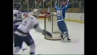 Kings vs Nordiques (Gretzky 7 Points) - Feb.18,1989