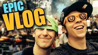 FESTIVAL EPICO, AMERICA Y BOOTYS HINCHABLES   Epic Vlog UMF