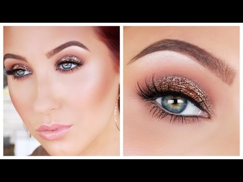 Antique Bronze Smokey Eye Makeup Tutorial   Jaclyn Hill