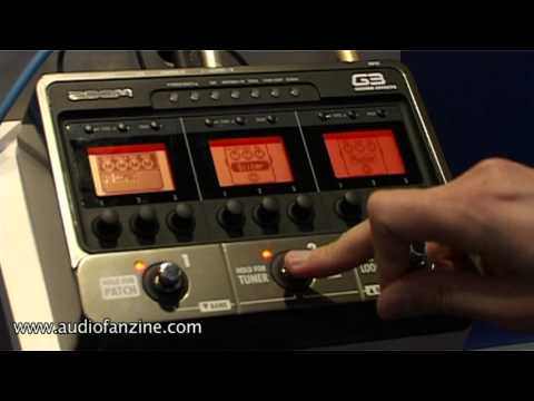 Zoom G3 Video Demo [NAMM 2011]