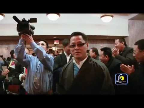 Lhaksam video,  Warm Welcome for Tibetan Prime minister Dr.Lobsang Sangay in New York