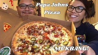 Papa John's Mukbang | Where Have We Been ?!