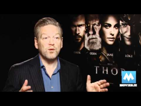 THOR Director Kenneth Branagh Talks About The New Marvel Movie