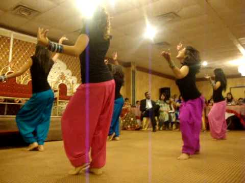 Shaadi Dance For Rahil And Munira (bhangra Sisters) video
