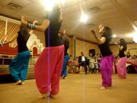Shaadi Dance For Rahil And Munira (bhangra Sisters) video