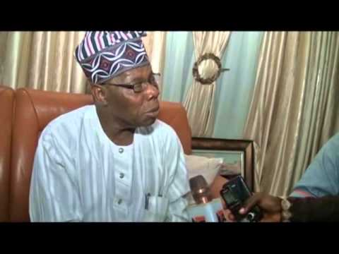 Former President Chief Olusegun Obasanjo at OAU Lecture, Visits Ooni Of Ife