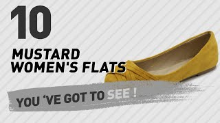 Mustard Women's Flats // New & Popular 2017