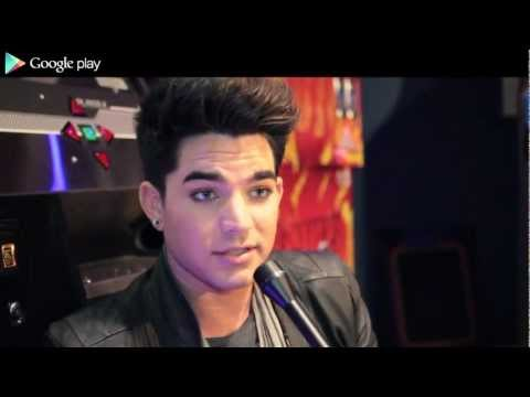 Google Play: Adam Lambert Interview