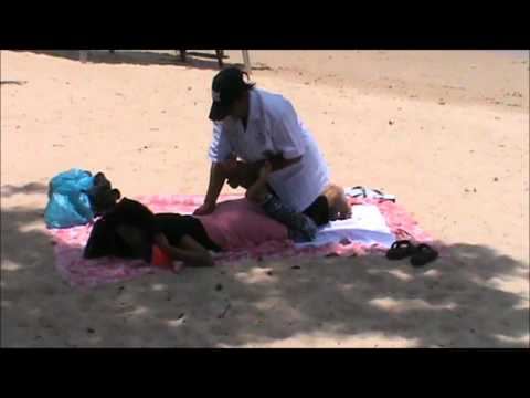 Thai Massage on the beach