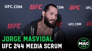 Jorge Masvidal: 'I want to fight the greatest guys of my generation and hurt them'