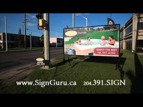 [Portable Signs Edmonton] Video