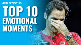 Top 10 Emotional ATP Tennis Moments That Made Us Cry 😢