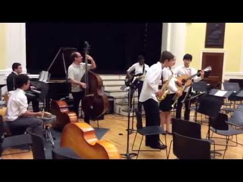 Cantaloupe Islands June 21st, 2014, Jazz Band, Summer Interlude Concert, The Brearley School, NYC - 06/21/2014