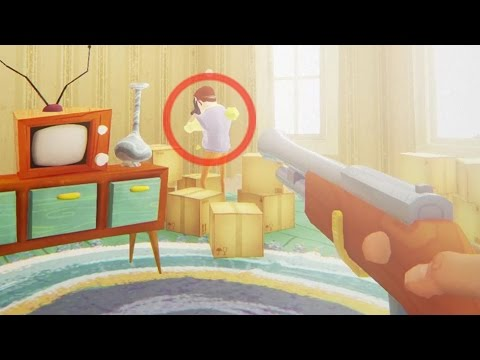 LE DISPARO AL VECINO MIENTRAS LLORA EN EL FINAL !! | HELLO NEIGHBOR ALPHA 3