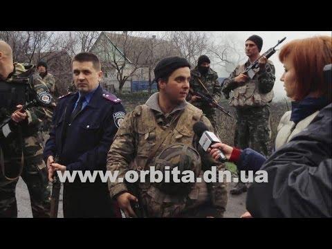 Конфликт с военными в Красноармейске, 14.04.2014
