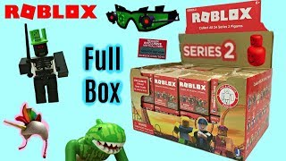 Roblox Blind Boxes Series 2 & Code Items, Surprise Mystery Boxes, Unboxing, Toy Review #RobloxToys