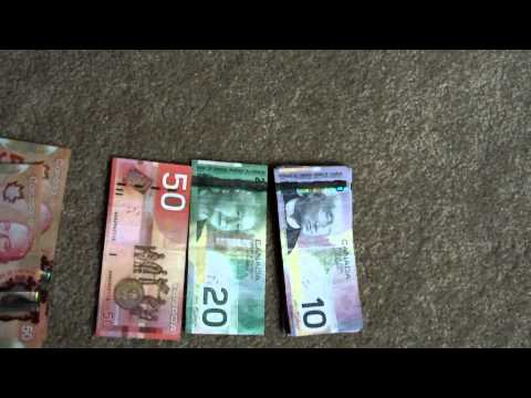 A look and review on the new 50 and 100 Canadian dollar bills