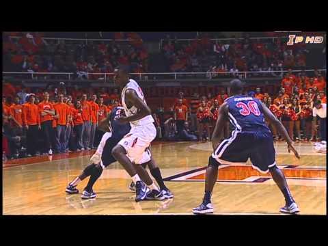 Illinois Basketball Highlights vs St. Francis 11/12